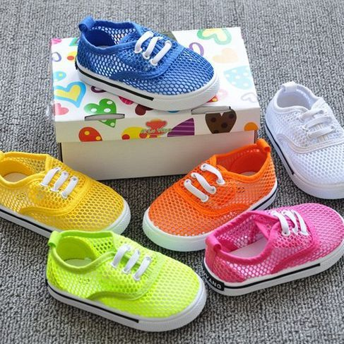 Kids breathable sneakers