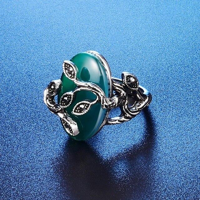 Moda Ovale di Cristallo Di Fascino Monili Per Le Donne Eleganti Antico Foglie Verdi Farfalla Opale Pietra Squisita Set di Gioielli 20%