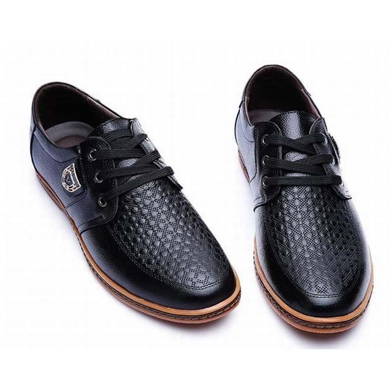 big size 38-48 high quality genuine leather men business shoes lace up traval driving casual shoes fashion cow muscle man shoes zero more fashion men shoes high quality cow suede leather men casual shoes lace up breathable shoes for men plus size 38 49