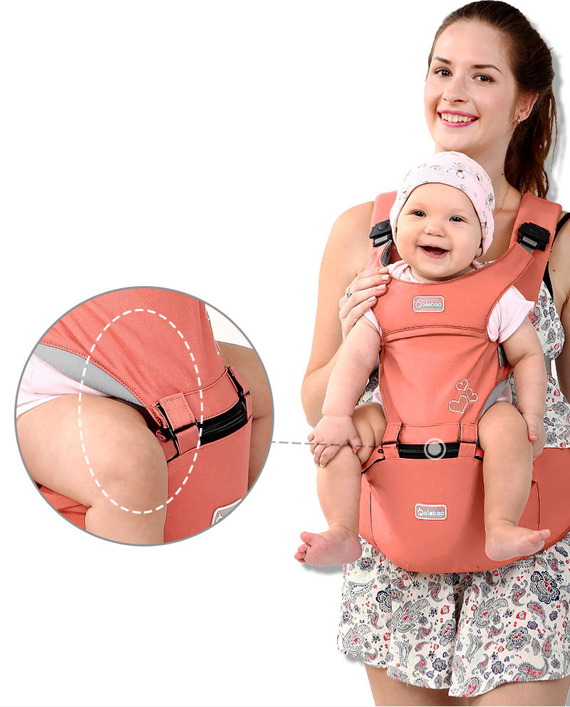 Breathable Portable Kangaroos Baby Backpack And Ergonomics Baby Carrier For 1-36M Babies 3