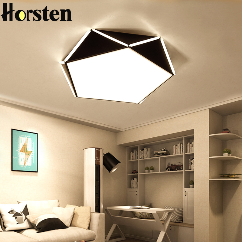 Horsten Geometric Design 36W Ceiling Lights Lamps With Remote Control Indoor Lighting For Bedroom Living Room 6-20 Square MetersHorsten Geometric Design 36W Ceiling Lights Lamps With Remote Control Indoor Lighting For Bedroom Living Room 6-20 Square Meters