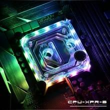 купить Cpu-Xpr-B-Pa, For Intel Lga115X/2011 Cpu Water Blocks, Rbw Lighting System, Microwaterway Water Cooling Block недорого
