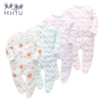 HHTU Baby Cotton Bag Foot Piece Of Clothing To Open Long Sleeved Piece Of Clothing To