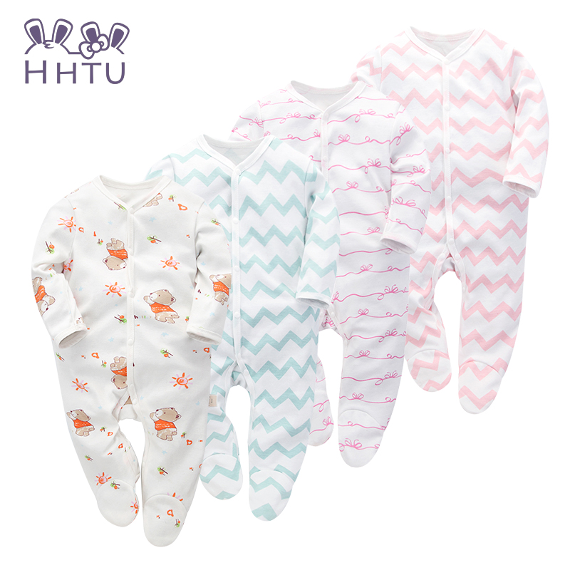 HHTU 2018 Baby Clothing New Newborn Baby Boy Girl Romper Clothes Long Sleeve Infant Product Fashion Autumn Lovely baby clothing 2017 new newborn baby boy girl rompers toddler clothes long sleeve infant product autumn winter underwear pajamas
