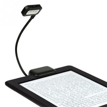 Reading Book Light Portable Flexible Folding LED Clip On AAA Lamp For Reader Kindle Book For Amazon Kindle/PDAs/Pad/eBook Reader new 6 0 inch 1024x758 e book reader panel for tolino shine ebook screen