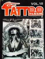 Профессиональный вспышки татуировки журнал книга A4 40 страница эскиз тату Дизайн книга питания для татуировки Средства ухода за кожей Книги...