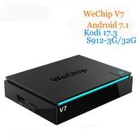 Original WeChip V7 KDPlayer 17 3 Android 7 1 TV BOX Amlogic S912 Octa Core Cortex