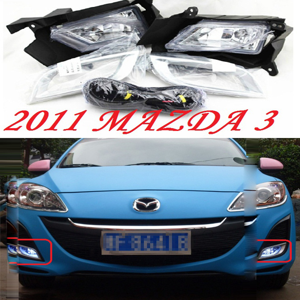 car-styling,Mazd3 halogen light,2011~2013,Free ship!2pcs,Mazd3 fog light;car-covers,axela,Mazd3 headlight;atenza,cx-5,Mazd 3 2011 2013 golf6 fog light 2pcs set wire of harness golf6 halogen light 4300k free ship golf6 headlight golf 6