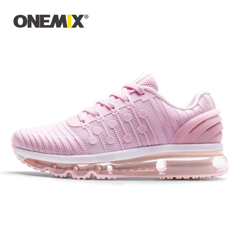 Onemix femmes chaussures de course dames concepteur fitness sentiers de course chaussures de sport sport de plein air jogging marche formateur