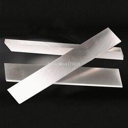 Grubość 3mm HSS biała stal marka uniwersalny nóż Chopper kuchenny owoc nóż pusta stal poddana obróbce cieplnej HRC61 długość 300mm