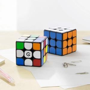 Image 1 - Youpin cubo magnético Giiker M3 3x3x3, cubo mágico cuadrado de Color vivo, rompecabezas de Ciencia, Educación no funciona con la aplicación Giiker