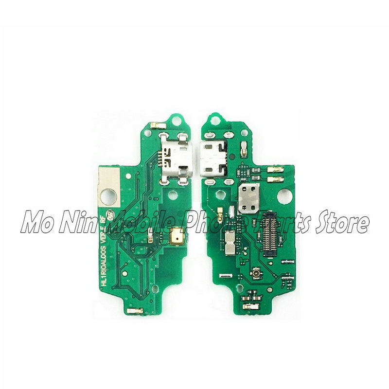 New Microphone Module+USB Charging Port Board Flex Cable Connector Parts For Huawei G8 Replacement