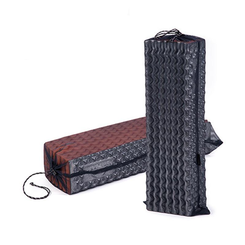 Image 3 - Naturehike Camping Mat Cushion Outdoor Tools Ultralight Lightweight Aluminium Egg Slot Folding Mat Portable Moisture proof Pads-in Camping Mat from Sports & Entertainment