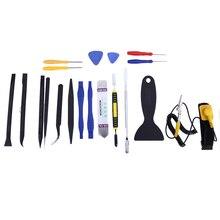 Alta Calidad 20 en 1 Multi Tipo de Destornilladores de Precisión del Kit del Sistema Spudger Herramienta de la palanca Herramienta de Reparación de juego de Destornilladores para el Teléfono Celular