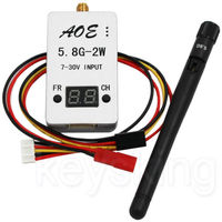 5.8G 2000mW 2W 32CH Wirless Audio Video AV TS933 Transmitter for Multicopter Car Video Backview System Wifi Aerial Photo
