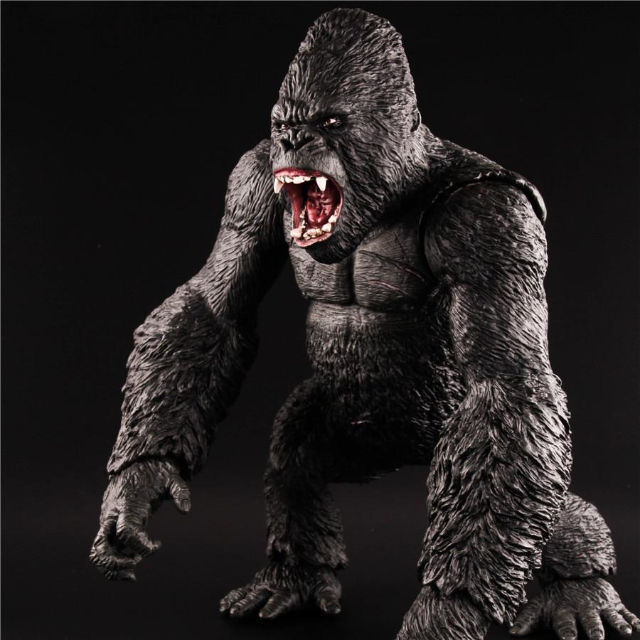15 Inch Model Kingkong Gorilla Movable Toy Gorilla Model American Gift Collection 35cm*24cm цена