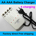 Brand New Universal Use Europe Type AA AAA Rechargeable Battery Batteries Wall Charger Chargers