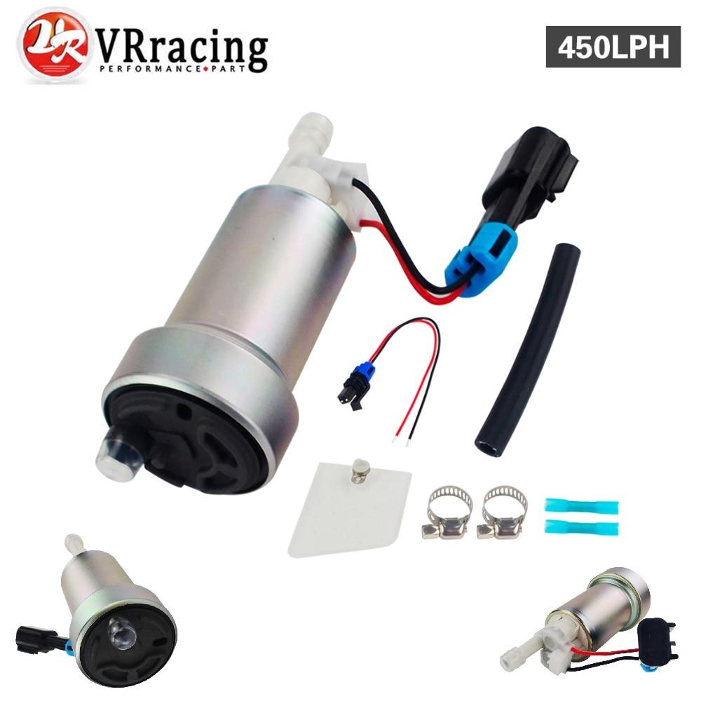 VR RACING E85 гонки высокая производительность внутренний топливный насос 450LPH F90000267 и установить комплект VR-FPB007