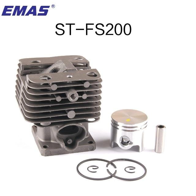 Zylinder Kolben SET #4140-020-1202 Für STIHL FS55 FS45 BR45 KM55 HL45 HS45 HS55