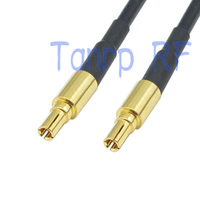 20in 50 CM Pigtail jumper de cabo coaxial RG174 cabo de extensão CRC9 macho para CRC9 conector do adaptador de plugue macho RF|plug adapter connector|plug connector|l connector -