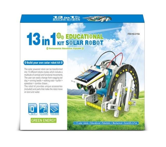 13 In 1 Educational Solar Robot Kit  1