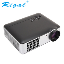Proyector Rigal RD806A Proyector LED 2800 lúmenes haz 3D Proyector sala de cine en casa 1280×800 Proyector HDMI VGA USB TV