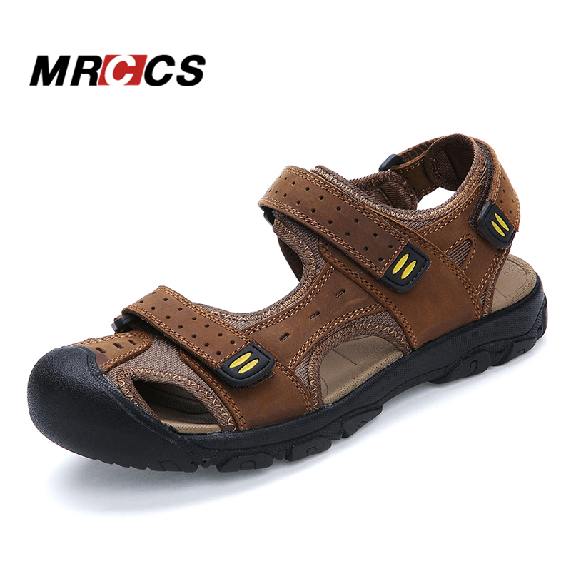 MRCCS Good Quality Big Size 38 47 Daily Men s Sandals Summer Cool Walking Slippers Soft