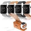 Здоровый Зарядный Док Деревянный Бамбука Станции Зарядки Стенд Держатель Телефона Для Apple I Часы 7/Для Samsung S6 S7 edge Plus Neo A8 J
