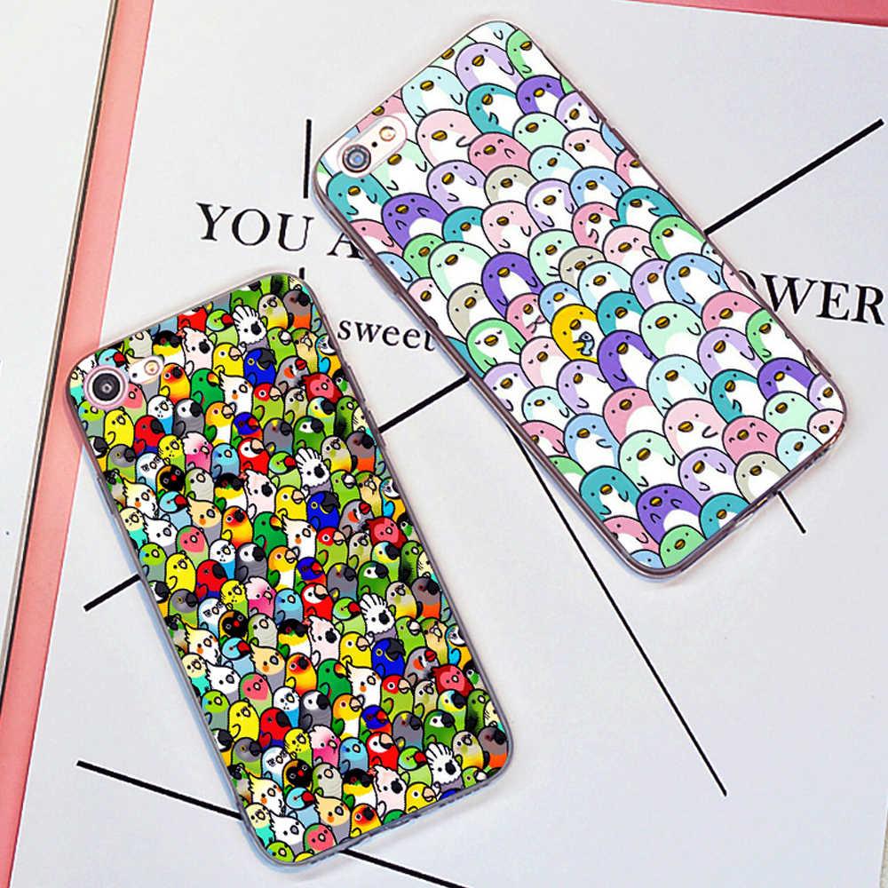 Paffuto Cocker dura del telefono caso della copertura di modo per il iPhone 11 Pro Max 6 7 8 più di 5S 5 X XS XR XSMax Per Samsung s9 s8plus s7edge