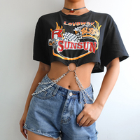 Punk Short Sleeve Tshirt