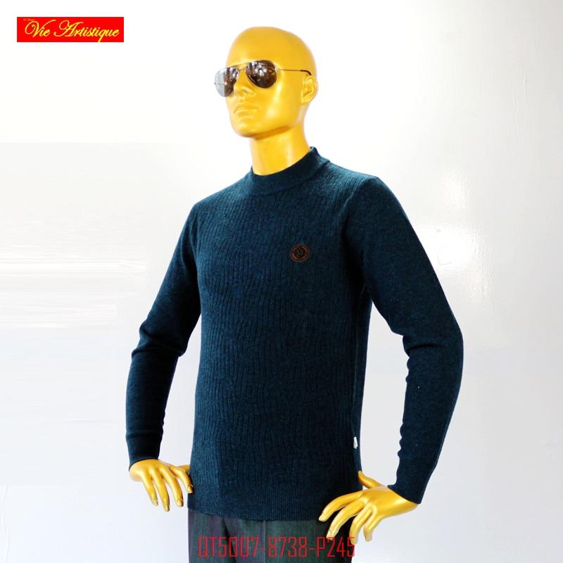 VA 2017 fall winter font b men s b font Christmas knitted turtleneck casual font b