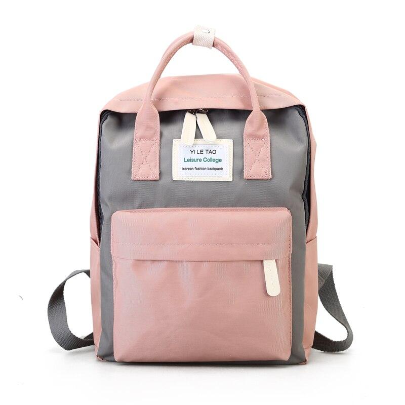 Multifunción mochila mujer moda juventud estilo coreano mochila escolar para adolescentes niñas niños viajes