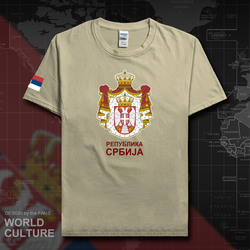 3d4df245b8 Serbia Serbian Serbs men t shirts fashion jerseys nation team 100% cotton  t-shirts