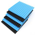 12Pcs Acoustic Soundproofing Sound-Absorbing Foam Retardant Tile 12x12x1 Inch
