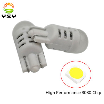 50pcs White 360 Degree Bulb T10 Led 194 168 W5W 3030 SMD LED Bulbs For Car Auto Dome Reading Parking Lights