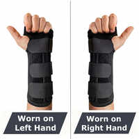 Wrist Support Carpal Tunnel Brace Straps Left or Right Hand 1 Pc Breathable Durable Finger Splint Arm Wrist Protector Adjustable