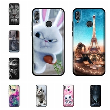 For Huawei Honor 8X Case Soft TPU Leather JSN-L11 JSN-L21 JSN-L22 Cover Rabbit Patterned View 10 Lite Bag
