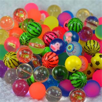 20 sztuk 30 sztuk 50 sztuk 80 sztuk 100 sztuk zabawna zabawka 32 MM bouncing mieszane kolory piłeczka do odbijania dziecko elastyczna gumowa kula bouncy zabawki tanie i dobre opinie JKLYZXS over 3 years old Sport Unisex 32mm RUBBER j-Bouncy Ball 6 lat