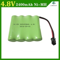 4 8V 2400mAh Remote Control Toy Electric Lighting Lighting Security Facilities 4 AA NI MH Battery