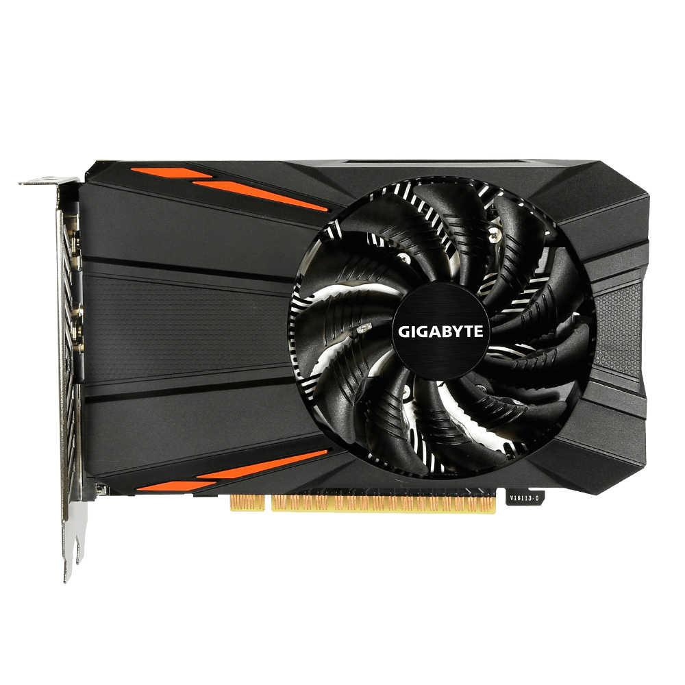 Gigabyte الجرافيك بطاقة gtx 1050ti بواسطة GTX 1050 Ti GPU من gigabyte gtx 1050 1050ti GV-N105TD5-4GD GDDR5 4GB فيديو بطاقة ل pc
