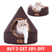 Foldable Removable Dog House Winter Warm Kennel Small Medium Dogs Beds Puppy Cat Sleeping Bag Pet Supplies Accessories Products
