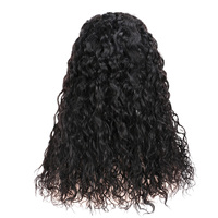RealBeauty Peruvian Lace Front Wigs Pre Plucked Water Wave Wig 8 20Inch 4*4 Lace Front Human Hair Wig For Women Remy U Part Wig