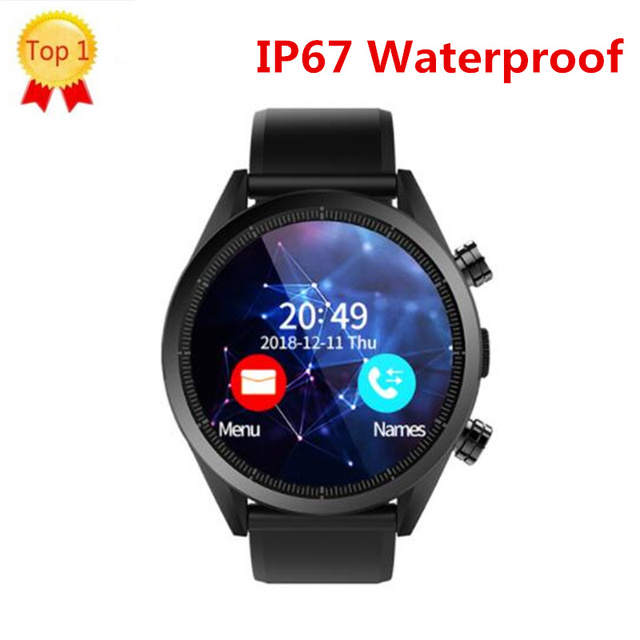 "Kospet Hope Android 7.1 Smartwatch 3GB+32GB Dual 4G 1.39"" AMOLED WIFI/GPS/ 8.0MP Sim IP67 Waterproof MT6739 Smart Watch Phone"