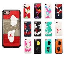 Для Iphone6 6s 7 7 плюс Телефон Case 4.7 Дюйм(ов) 3D Иордания капа Спорт Баскетбол Пластик + Силиконовые Телефон Обложка Case для iphone 7