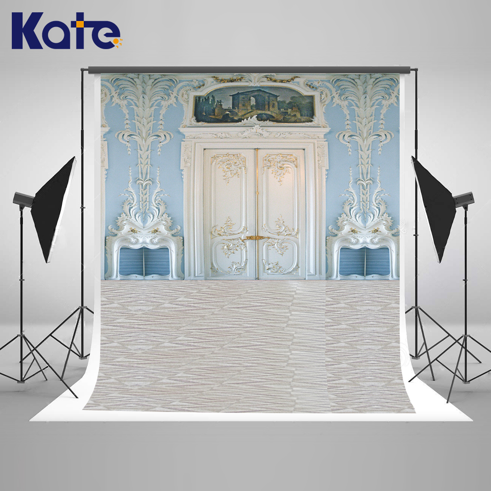 ФОТО Kate Indoor Wedding Backdrop European Luxury Wooden Doors Backdrops Blue Carved Background Multi-size Can Washed Background