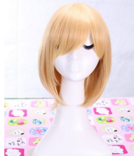 Kagamine rin cosplay peluca animado amarillo peluca corta peluca de pelo anime cosplay accesorios