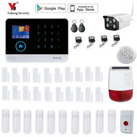 Yobang Security WIFI Home Security Alarm System DIY KIT IOS Android Smartphone App Control Door Window