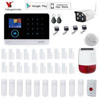 Yobang Security WIFI Home Security Alarm System DIY KIT IOS/Android Smartphone App control Door/window Sensor Burglar Alarm