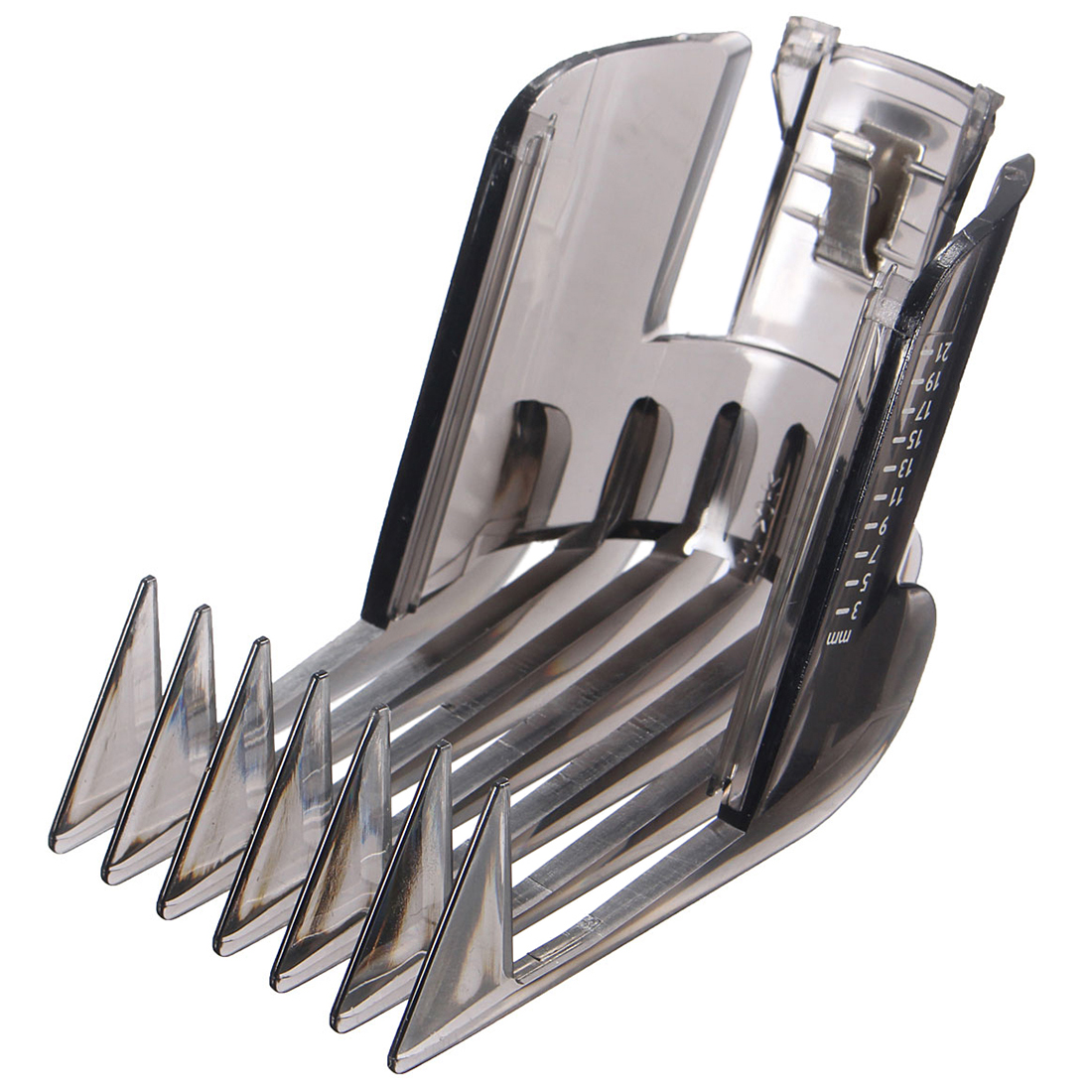 YOST-Hair Clippers Beard Trimmer comb attachment for Philips QC5130 / 05/15/20/25/35 3-21mm 1