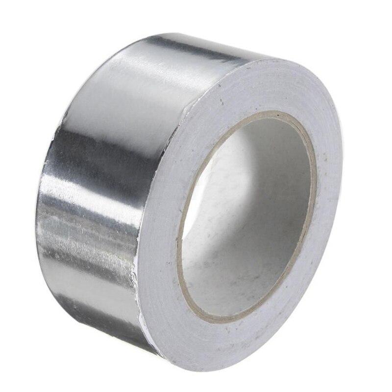 50 m Dài Nhôm Cuộn Foil Tape Tự Dính Cách Nhiệt, 50 Mét X 50 M